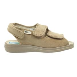 Befado naisten kengät pu 676D004 ruskea