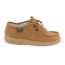 Befado naisten kengät pu 871D005 ruskea