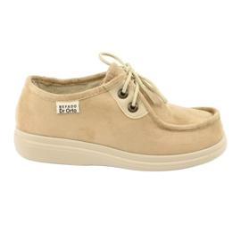 Befado naisten kengät pu 871D007 ruskea
