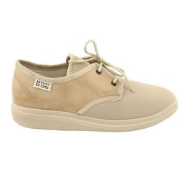 Befado naisten kengät pu 990D002 ruskea