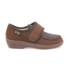 Befado naisten kengät pu 984D010 ruskea