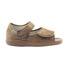 Befado naisten kengät pu 989D003 ruskea