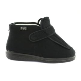 Befadon naisten kengät pu orto 987D002 musta