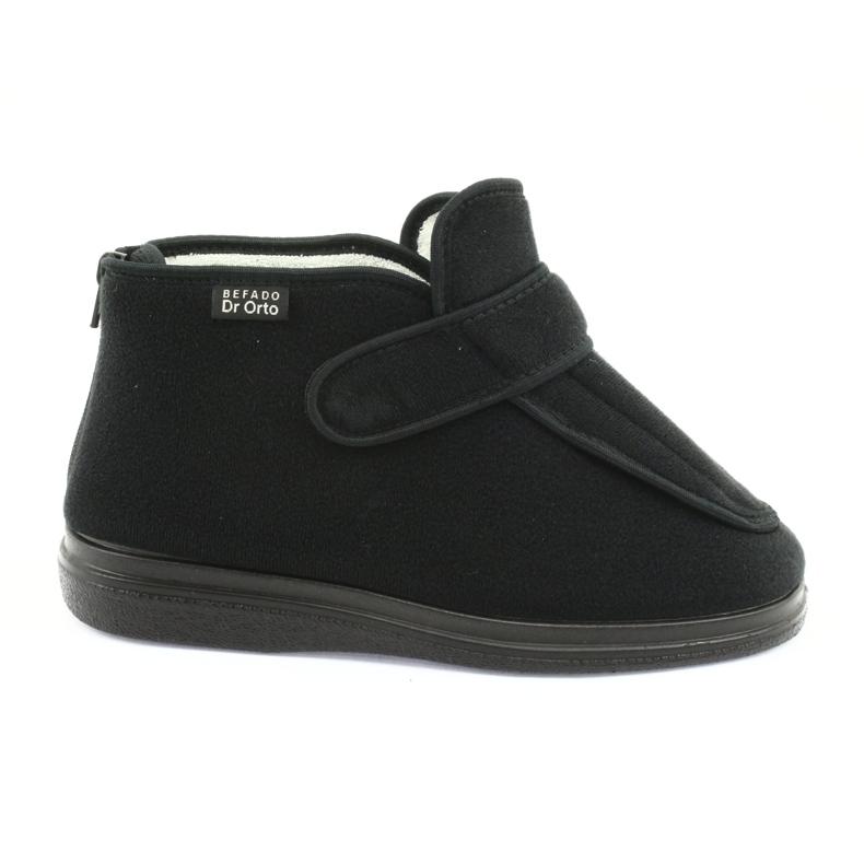 Befado naisten kengät pu orto 987D002 musta