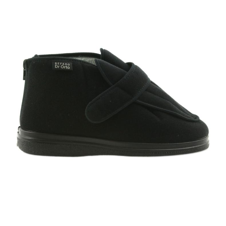 Befado miesten kengät pu orto 987M002 musta