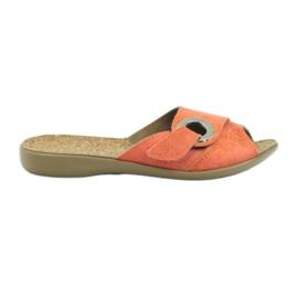 Befado naisten kengät pu 265D006 oranssi