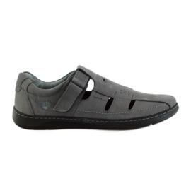 Harmaa Riko miesten kengät sandaalit 851