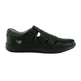 Riko-kengän miesten 851 sandaalit harmaa