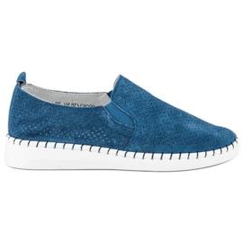 Filippo Avokärkiset kengät sininen