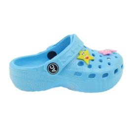 American Club Crocsy flip-flops sininen amerikkalainen