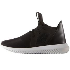 Musta Adidas Originals Tubular Defiant kengät S75249: ssä