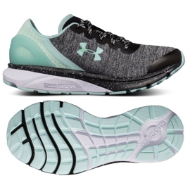 Under Armour harmaa Alle Armor Charged Escape Running -kengät W 3020005-002