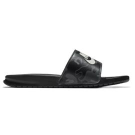 Musta Nike Benassi Flip Just Do It Print 631261-013