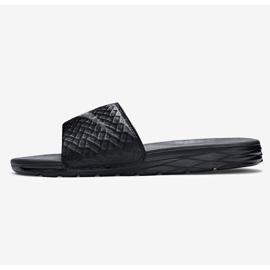 Musta Tossut Nike Benassi Solarsoft Slide 705474-091