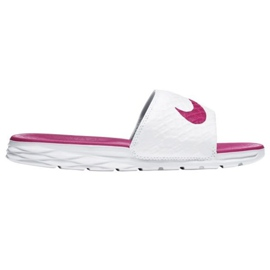 Valkoinen Nike Benassi Solarsoft Slide 705475-160