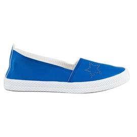 Kylie Slip-on-tennarit sininen