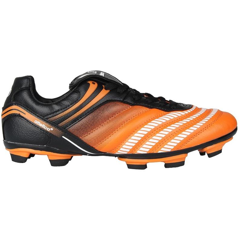 Jalkapallokengät Atletico Fg Jr 14-1216 oranssi monivärinen