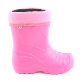 Pinkki Befado lasten kengät kalosz-róż 162Y101