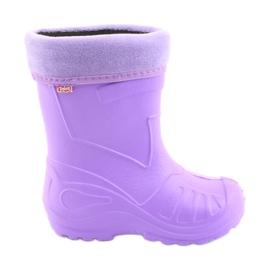 Befado lasten kengät galosh-violetti 162Y102