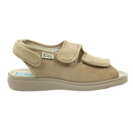 Ruskea Sandaalit diabeetikoille Befado 676d004