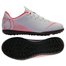 Nike Mercurial VaporX 12 -jalkapallokengät Tf Gs Jr AH7355-060
