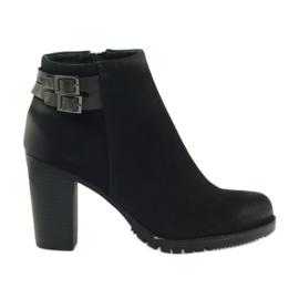 Filippo Korkokengät naisten kengät, soljet 8255 musta