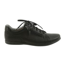 Musta Riko miesten kengät vapaa-ajan kenkiä 856