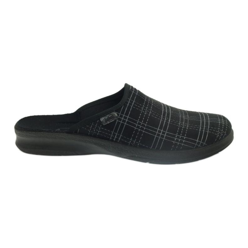 Befado miesten kengät tossut 548m011 tossut musta