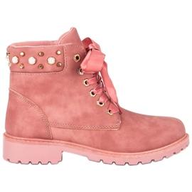 McKey pinkki Vaaleanpunainen Casual Trappers
