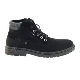 American Club American trappers kengät talvella vaellus musta