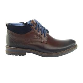Ruskeat miesten kengät Nikopol 686