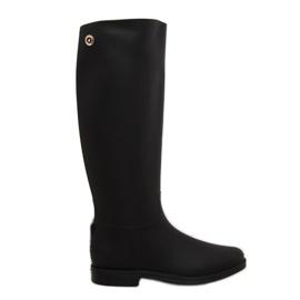 Rainy Show Rain Boots musta D59 Black