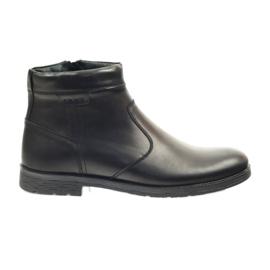 Riko saappaat miesten kengät, vetoketju 825 musta