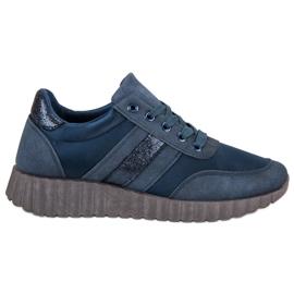Kylie Navy Fashion -jalkineet sininen