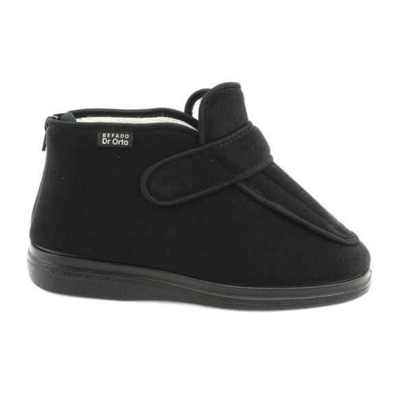 Befado-kengät DR ORTO 987D002 musta