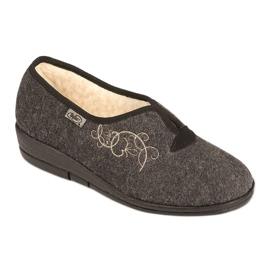 Befado naisten kengät pu 940D357 ruskea