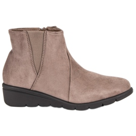 Kylie Suede Boots ruskea