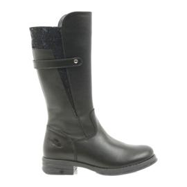 Ren But Ren Boot pitkät saappaat musta 4371