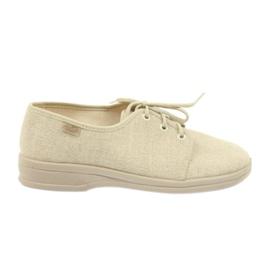Ruskea Befado kengät miesten kengät pu 630M007