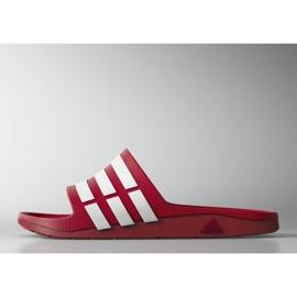 Punainen Adidas Duramo Slide M G15886 tossut
