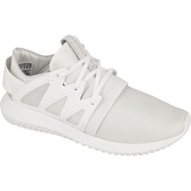 Valkoinen Adidas Originals Tubular Viral -jalkineet S75583: ssa