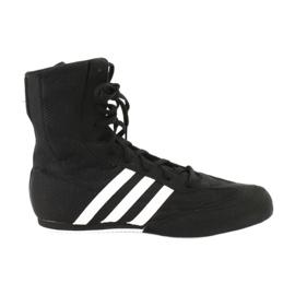 Musta Adidas Box Hog Ii nyrkkeilykengät