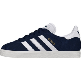 Laivasto Adidas Originals Gazelle Jr BY9144 kengät