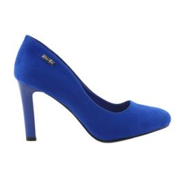 Sergio Leone Suede pumput 1457 sininen