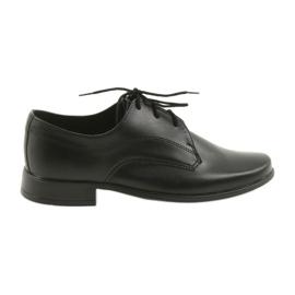 Musta Miko kengät lasten kengät pojille ehtoollinen