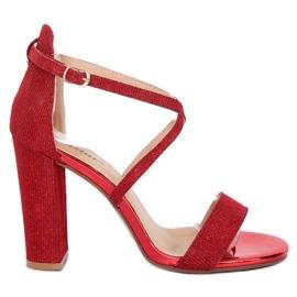 Sandaalit postitse punainen NC791 Punainen