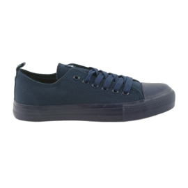 Laivasto Miesten kengät sidottu tennarit sininen American Club LH05