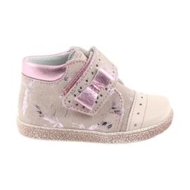 Ren But pinkki Velcro-saapikkaat Vauvan kengät Ren Mutta 1535 vaaleanpunainen flamingoja