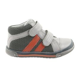 Ren But Boote kengät Velcro saappaat Ren Mutta 3225 harmaa / oranssi