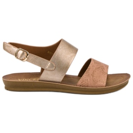 Mukava VINCEZA-sandaalit keltainen